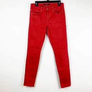 Joes 'Visionaire' Skinny Stretch Jeans Red Size 30